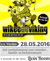 Inschrijving Wikee de Viking 2016 is gesloten